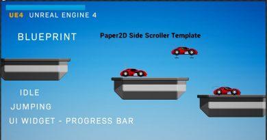 Epic Unreal Engine 4 - Paper 2D Demo