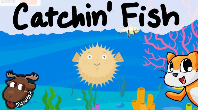 Let's make a fish clicker game! - Catchin' Fish - Rachel's Scratch tutorials