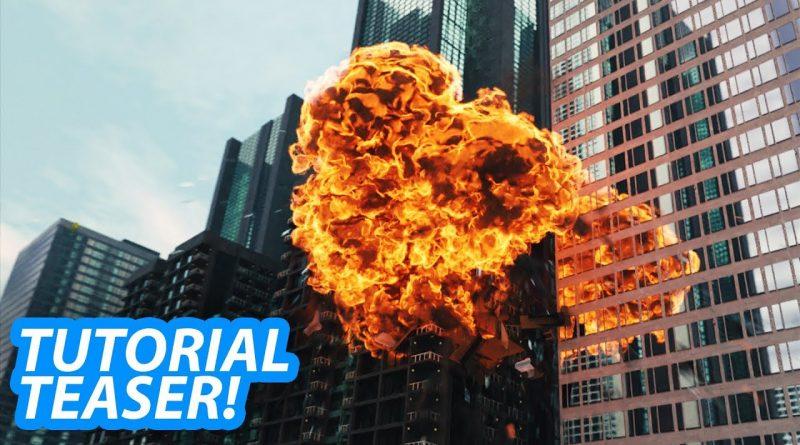 Epic Explosions in Blender Tutorial Teaser!
