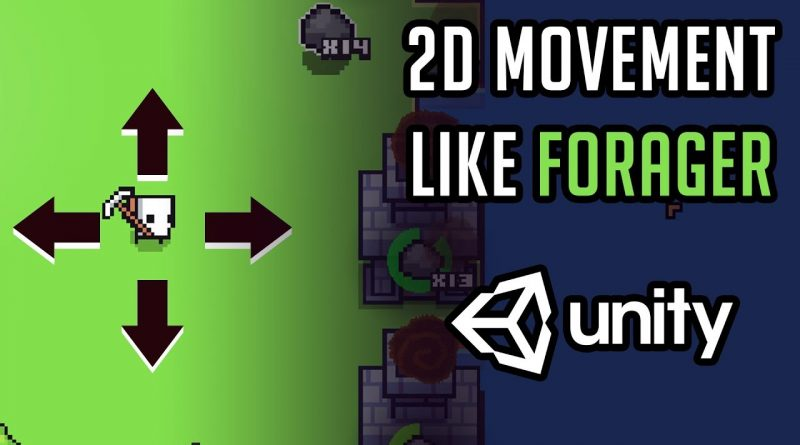 Unity 2D movement (like Forager) - [ Unity Tutorial ]