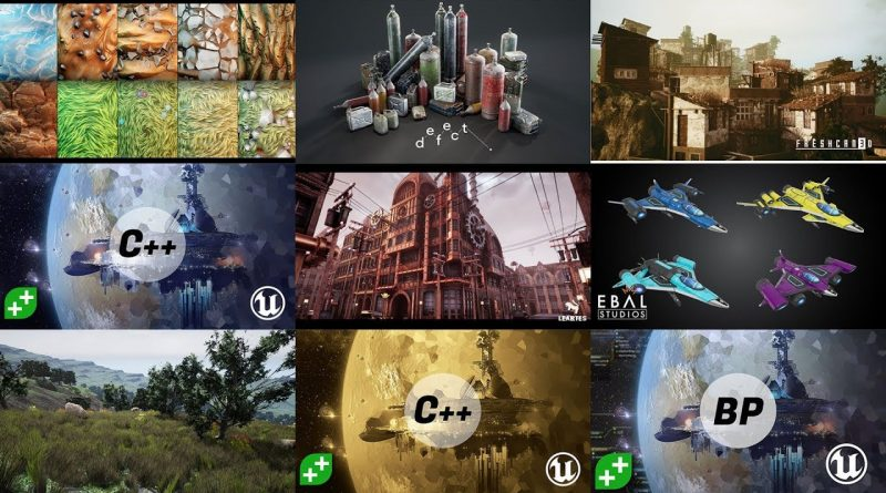 Unreal Engine Game Development Bundle -- Featuring GameDev.tv
