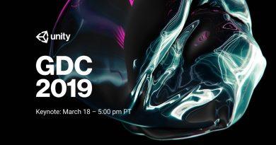 Unity at GDC Keynote 2019