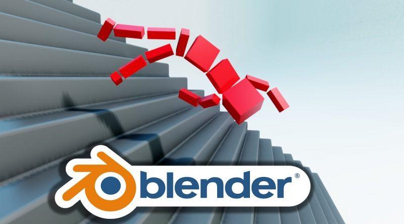 Create a RAGDOLL in under 10 MINUTES! Blender 2.8 Easy Tutorial