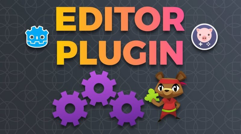 Intro to plugin Creation in Godot 3 (tutorial by Pigdev)