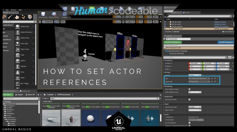 UE4 creating actor references - Blueprint communication, 4 different approaches inside of Unreal