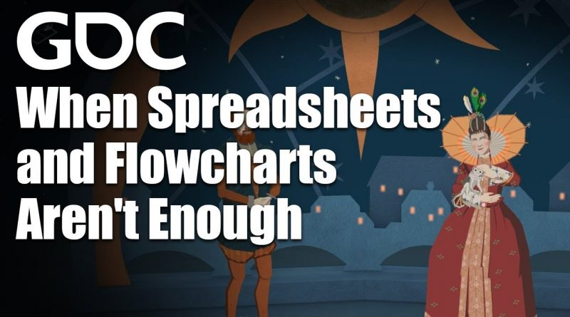 Game Design Tools: For When Spreadsheets and Flowcharts Aren't Enough