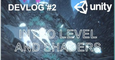 Intro level and shaders - Indie Game Devlog #2