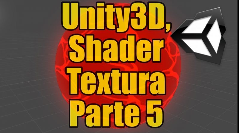 Unity3D Shader-Textura: Lava hirviendo