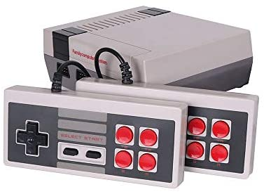 Railay Retro Game Console, AV Output Built-in 621 Classic Video Games