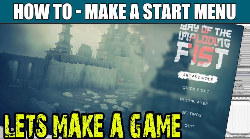 Unity UI Beginner Tutorial | Dev Log - Make a Game Menu