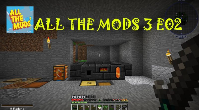 All The Mods 3 E02 Tinkers Smeltery (Change Resolution to the highest it can go)