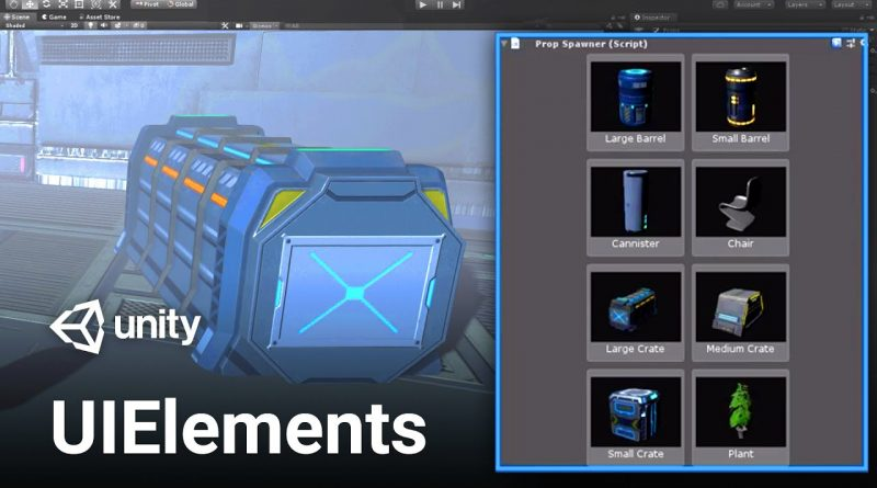 Customize the Unity Editor with UIElements!