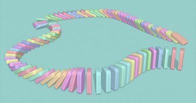 Create Domino Runs (Blender Tutorial)