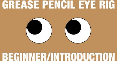 Grease Pencil Eye Rig - Beginner/Introduction Blender Tutorial