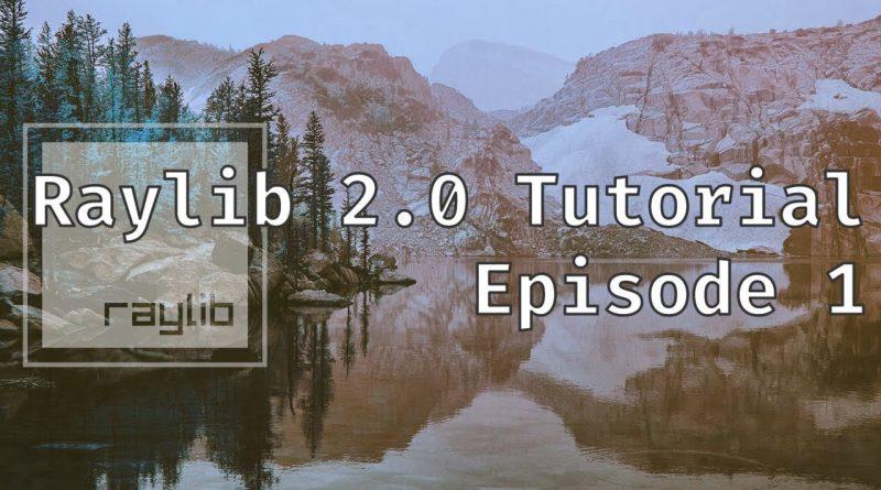 Raylib tutorial | Episode 1 | Setting up Raylib and Creating a Window