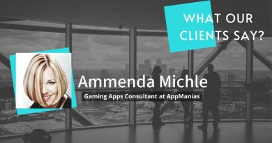 Client Testimonial   Algoworks Review by Ammenda Michle, Gaming Apps Consultant at AppManias
