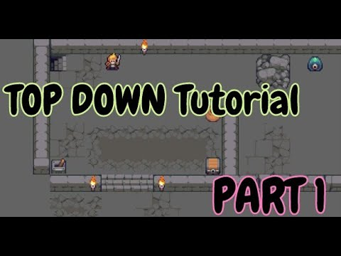 Introducing Construct 3 ( TOP Down RPG  Tutorial ) - Part 1