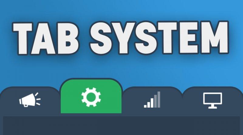 Creating a Custom Tab System in Unity
