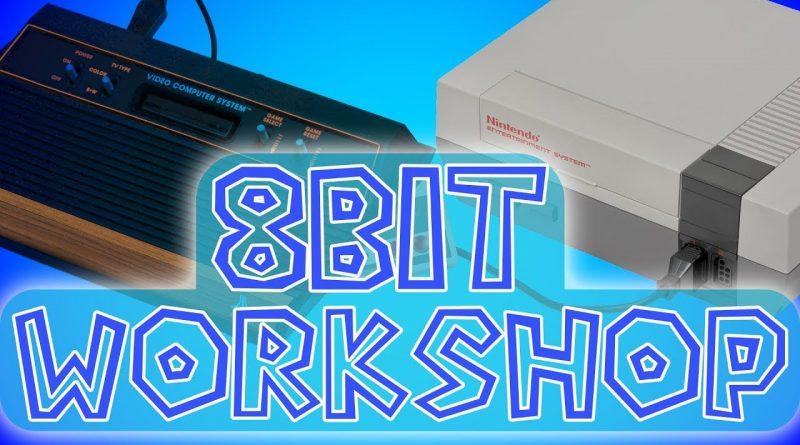 8Bit Workshop -- Awesome Retro Console IDE + Emulator + DevKit for 8Bit GameDev