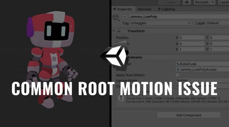 Common Issue with Root Motion - Unity Tutorial