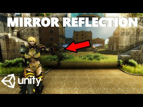 HOW TO CREATE A TRUE MIRROR REFLECTION IN UNITY TUTORIAL