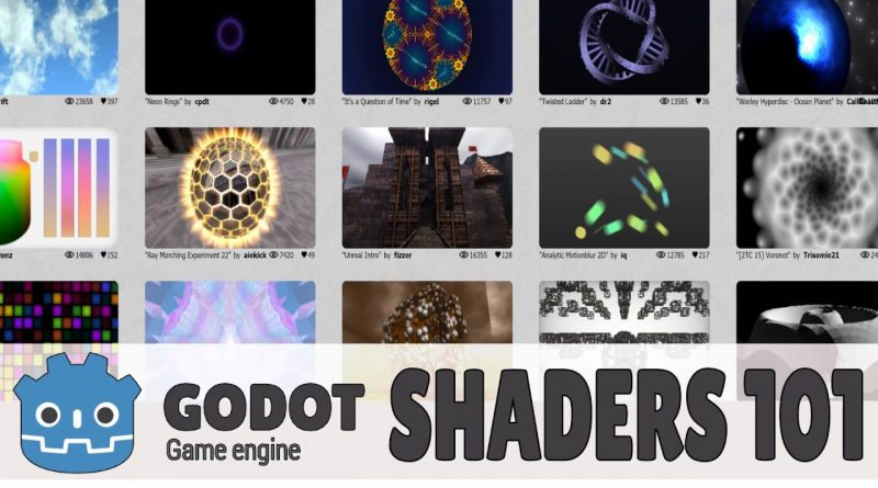 Shaders And Materials 101 -- Godot 3.x Tutorial Series