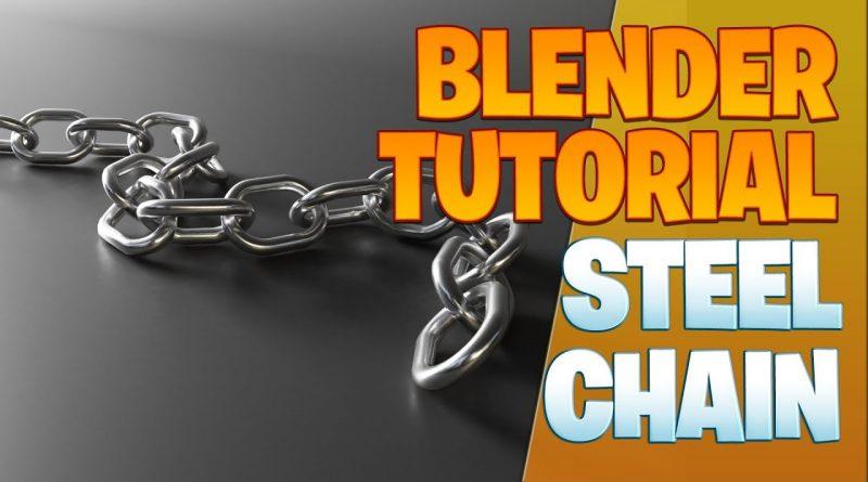 Steel chain - Blender Tutorial