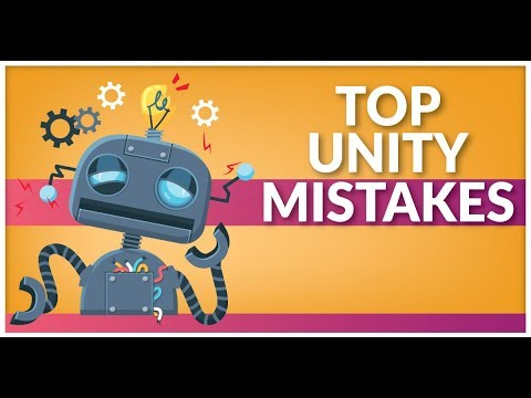 Unity3D Mistakes I made that you should avoid