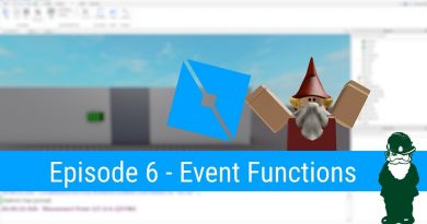 Event Driven Functions - (Ep 6) Lua Scripting Tutorial for Roblox Game Dev