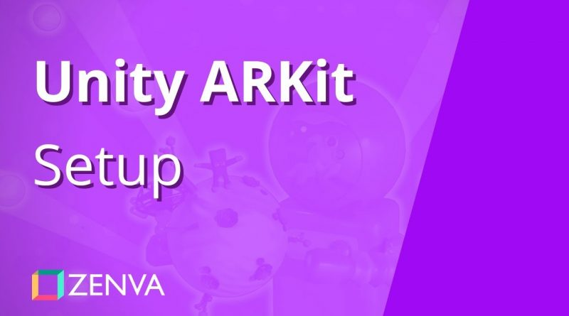 Unity ARKit Tutorial - Installing the SDK