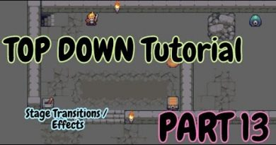 How to Tutorial - Construct 3 ( TOP Down RPG - Stage Transitions / Effects) - Part 13