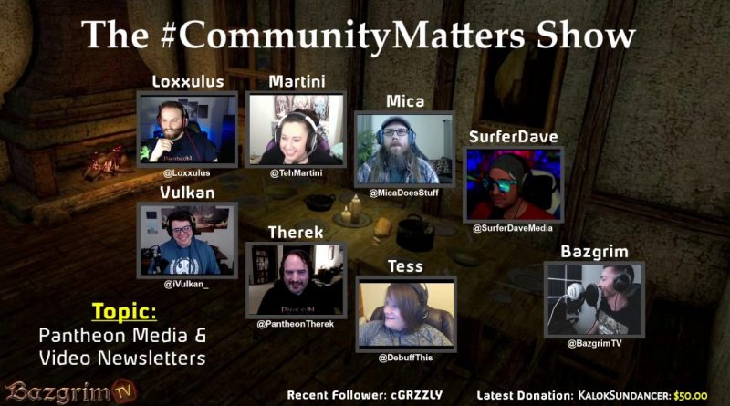 Pantheon: Rise of the Fallen Fans Discuss the Game's Marketing | The #CommunityMatters Show