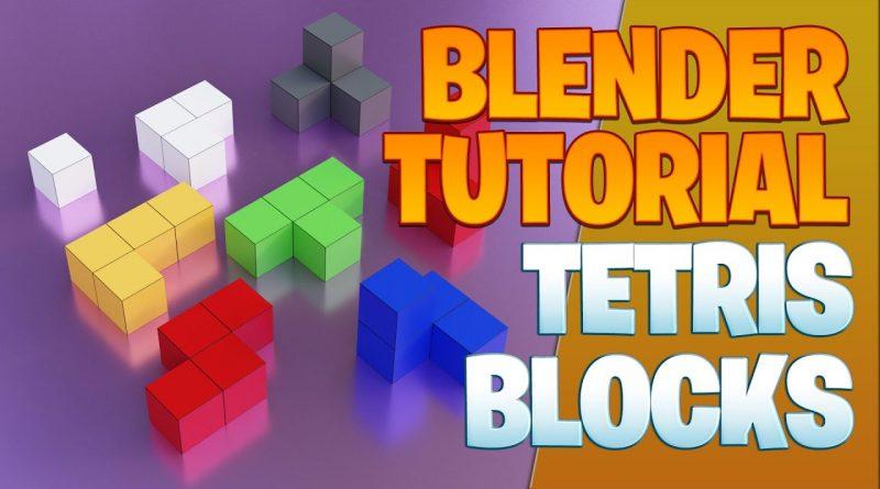 Tetris blocks - Blender Tutorial