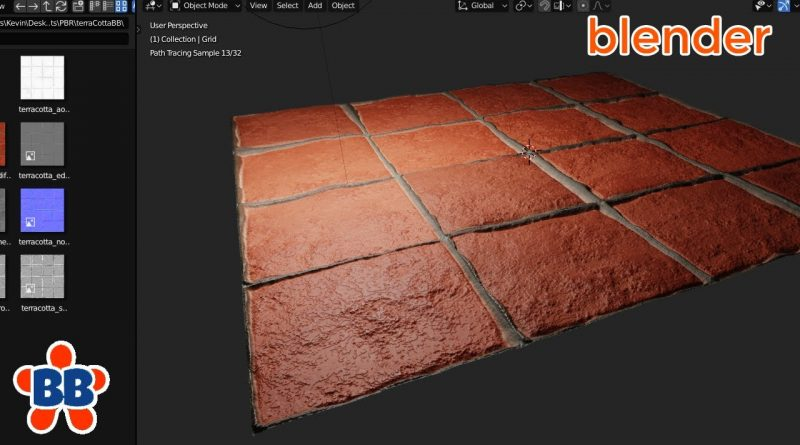 How To Setup PBR and Displacement in EEVEE AND Cycles [Blender 2.8]
