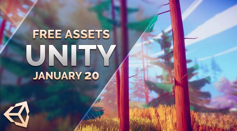 FREE Unity Assets - January 2020