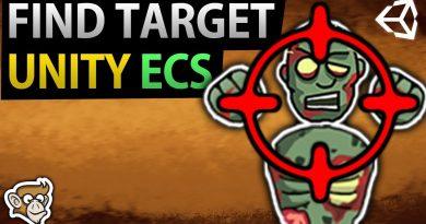 Find Target in Unity ECS