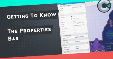 Getting to know Construct 3   The Properties Bar