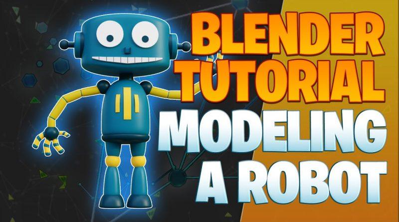 Modeling a robot - Blender Tutorial