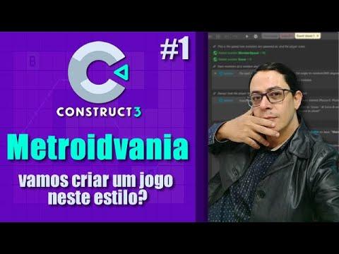 Construct 3 - Metroidvania 01 - Jogos para Android - desKompliKa/Cloud5