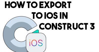 Construct 3 IOS Export (XCode)