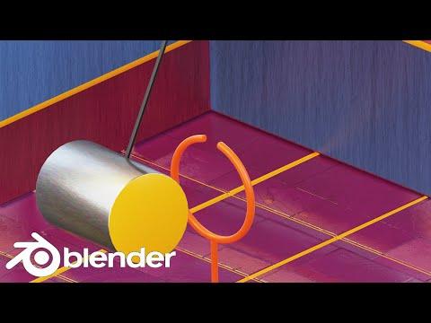 MoGraph: Hoop Loop (Blender Tutorial)