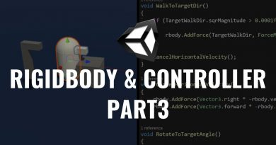 RigidBody & Player Controller (Part3) - Unity Tutorial