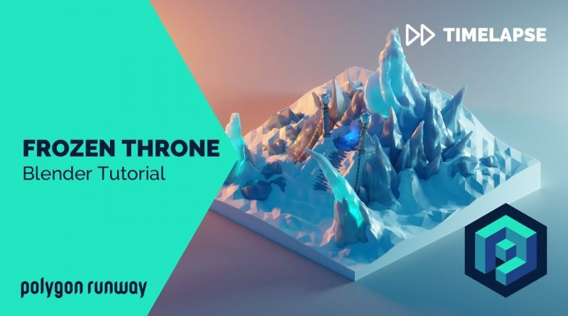 Warcraft Frozen Throne - Blender 2.8 Low Poly 3D Modeling Tutorial