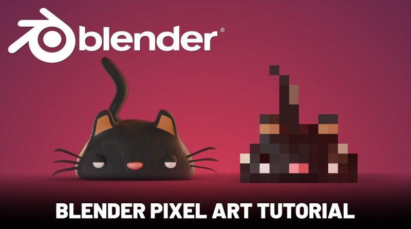 Blender 3D: Pixel Art Tutorial