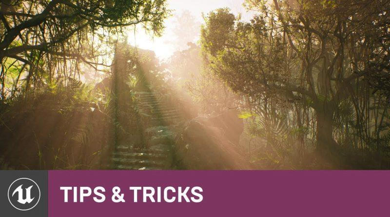 God Rays Using Volumetric Fog | Tips & Tricks | Unreal Engine