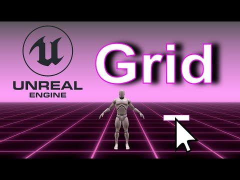 Unreal Engine 4 - Optimized Grid Tutorial (1/4)