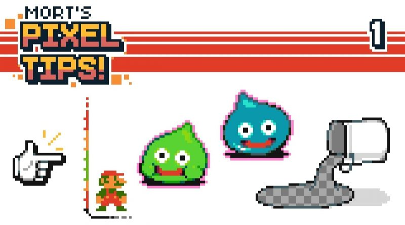 4 PixelArt Tips! - [Outline Tool][Size Consistency][Snap to Grid][Mask Fill] #Tutorial