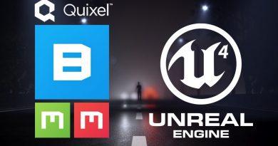 Quixel Bridge to Unreal Engine 4 Tutorial