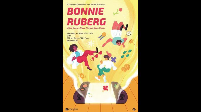 NYU Game Center Lecture Series Presents Bonnie Ruberg
