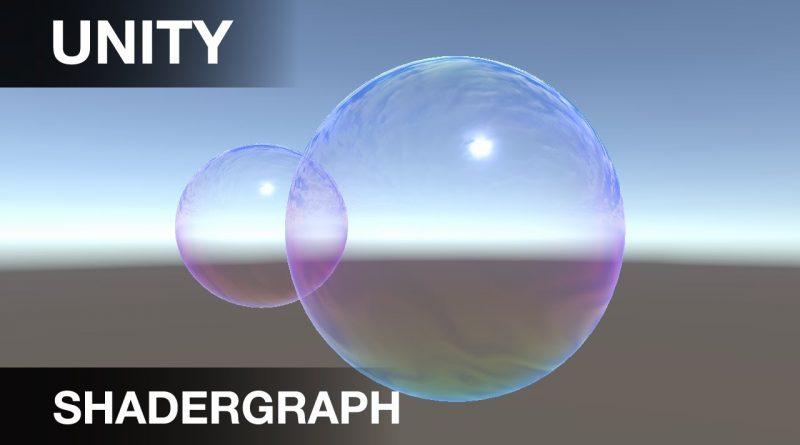 Unity   Shadergraph   Bubble Tutorial